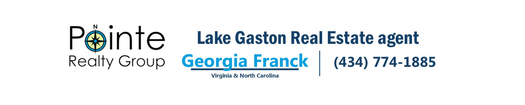 Lake Gaston Waterfront Properties -  Lake Gaston Real Estate Agent Georgia Franck